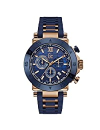 GUESS Men's Sport Chic Collection 44mm Silicone Band Quartz Watch X90022G7S