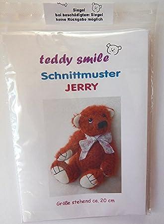 teddy smile - Schnittmuster Teddy Jerry - 20 cm - mit Anleitung Zum ...