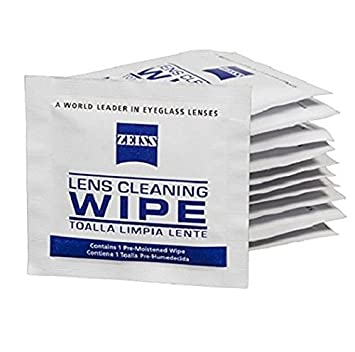 0c83ad3d81e Image Unavailable. Image not available for. Color  ZEISS Lens Wipes - 400ct  Pre-Moistened Eyeglass Cleaning Wipes