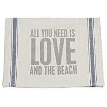 Primitives by Kathy And The Beach Tea Towel, 15 by 24-Inch