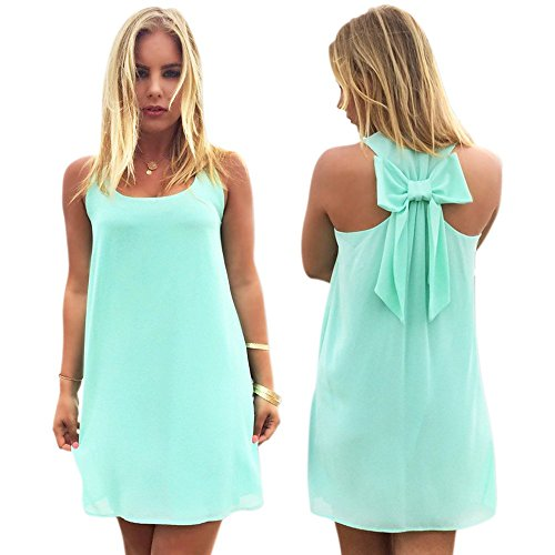 Buy dress with a bow on the back - 7