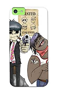 0baad76385 QueenVictory Gorillaz Cartoon Durable Iphone 5c Tpu Flexible Soft Case With Design