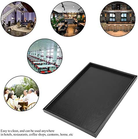 ホテルのホームレストランのコーヒーショップのための汎用のサービングトレイ、ティーサービングトレイ、ティートレイ(40*30cm)