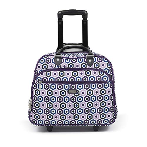 Baggallini Carryon Rolling Travel Tote -