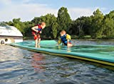 Aqua Lily Pad Bullfrog 20' x 6' (3 ply) Floating Foam Pad (For Lakes, Pools, Rivers)