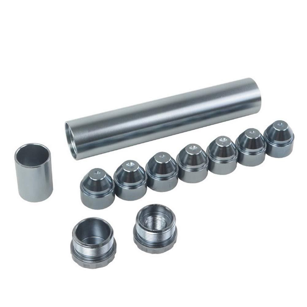 Pannow 11PCS alluminio 1//2-28 filtro carburante per auto filtro solvente filtro 1 x 6 per NAPA 4003 WIX 24003