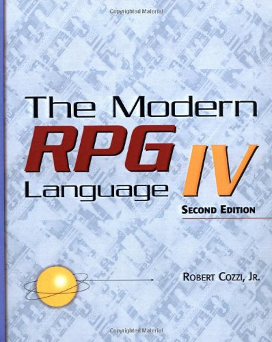 The Modern RPG IV Language, 2nd Edition