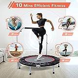 "BCAN 40"" Foldable Mini Trampoline, Fitness"