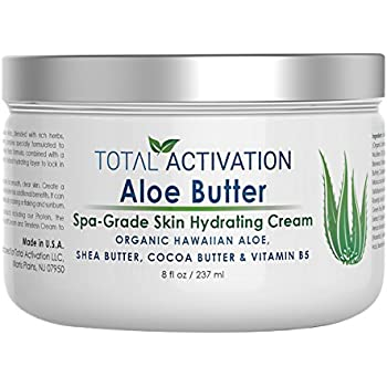 Amazon com: Aloe Infusion Body and Face Moisturizer - All Natural