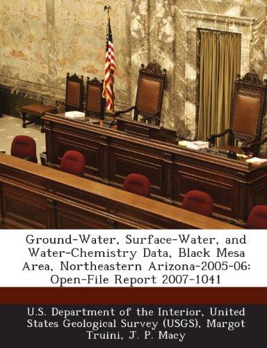 Ground-Water, Surface-Water, and Water-Chemistry Data, Black Mesa Area, Northeastern Arizona-2005-06: Open-File Report - Mesa Macys