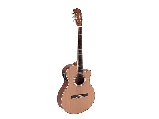 Guitarra de concierto WILLIAM con cuerpo de caoba y fonocaptor ...