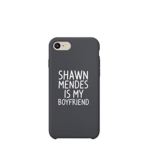 save off 0841a 3861b Amazon.com: Shawn Mendes is My Boyfriend Quote iPhone 7 Plus Case ...