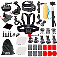 Black Pro Basic Common Outdoor Sports Kit for GoPro Hero...