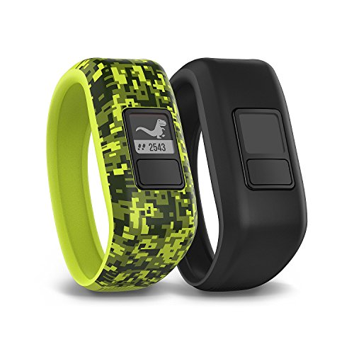 Garmin Vivofit Jr. Tracker with 2 Bands, Digi Camo and Black by Garmin