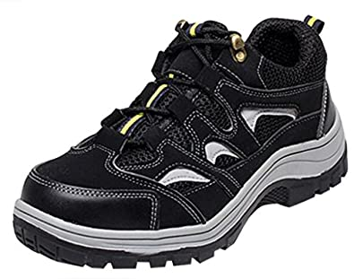 Optimal Women's Safety Shoes Work Shoes Comp Steel Toe Shoes WOPZJ0001