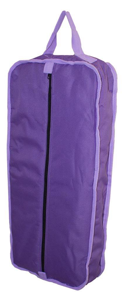 ダービーOriginals 3層パッド入りホルターネックBridle Tack Carryバッグ B00SG1C6D4 Purple/Lavender Trim Purple/Lavender Trim