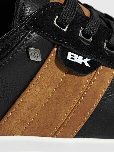 da cognac Sneakers British basse Knights uomo nero Kunzo 02 nere gqgXRZf