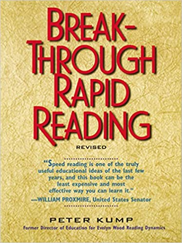 Ordinaire Amazon.com: Breakthrough Rapid Reading (9780735200197): Peter Kump: Books