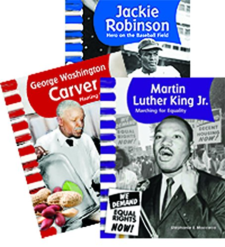 African American Men - 3 book set - Grades 1-2 (Social Studies - Collection Heritage Oakley