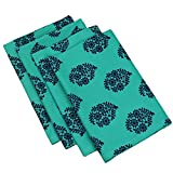 ShalinIndia Cotton Printed Table Linens Napkins Set of 24, 24 x 24 Inches 200TC Indian Home Décor