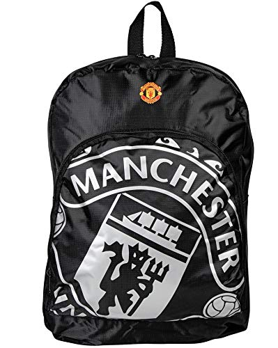 - Manchester United Fc - Authentic Epl Quality Black Backpack