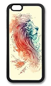 Apple Iphone 6 Case,WENJORS Adorable Sea Lion Soft Case Protective Shell Cell Phone Cover For Apple Iphone 6 (4.7 Inch) - TPU Black