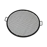Sunnydaze Fire Pit Cooking Grill, X-Marks BBQ Grate, 30 Inch