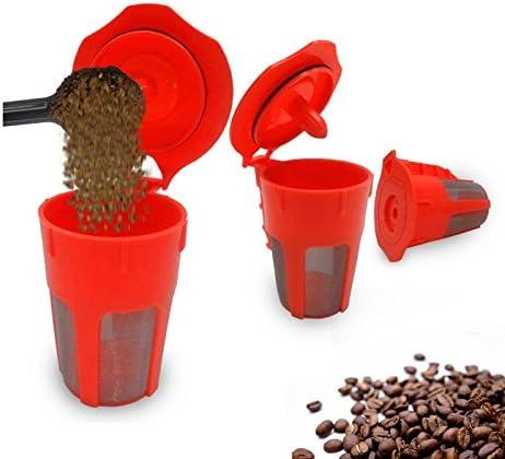 BuyYourWish KCASA KC-COFF18 K-Cup - Filtro de recambio reutilizable para cafetera Nespresso (1 pieza): Amazon.es: Hogar