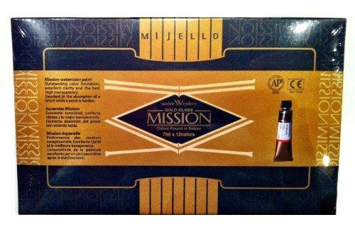 Price comparison product image Mission Gold Water Color Set,  12 Colors