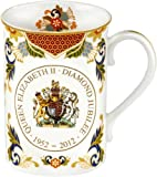 Royal Worcester Queen Elizabeth II Diamond Jubilee Mug