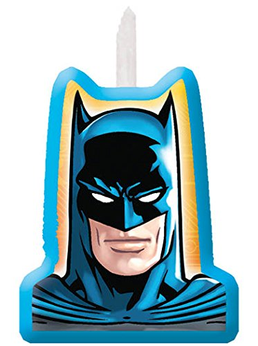 Amscan AMI 171386 Batman Candle Set, AMI 171386 1, Multicolored