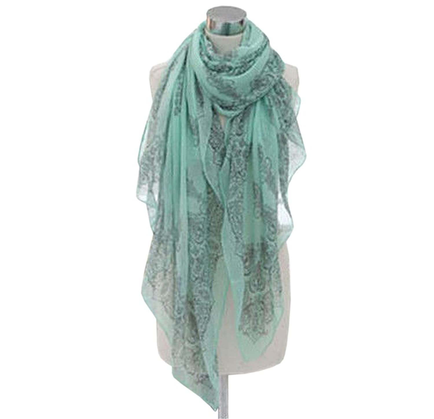 Wholesale prices Girl long scarves large beach scarf shawl Wrap Xmas New Gift