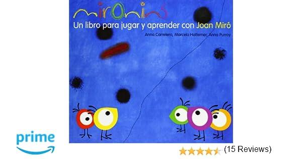 Mironins Un Libro Para Jugar Y Aprender Con Joan Miró Colección