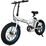"""ECOTRIC 20"""" New Fat Tire Folding Electric Bike Beach Snow Bicycle ebike 500W Electric Moped Electric Mountain Bicycles …"""