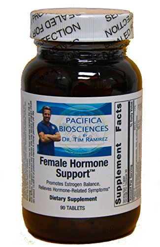 FEMALE HORMONE SUPPORT Formulated by DR. TIM RAMIREZ for Pacifica BioSciences-Provides relieve for mild mood swings, breast tenderness, cramping, and occasional sleeplessness (Metagenics Vitamins Womens)