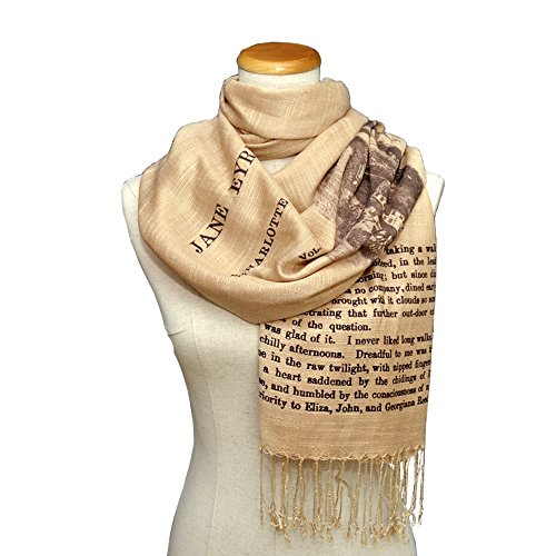 Jane Eyre by Charlotte Bront Scarf/Shawl