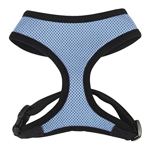 Casual Canine Pastel Mesh Dog Harness, Large, Blue