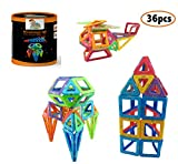 MagAmazinG WOW AMAZING 36PCS SET Building Block Magnetic Toy-2017 Amazing Educational Magnetic Building Block Set, Magnet and Magnetic Construction Awesome Set Toy for 3 Year old and above Recommendation