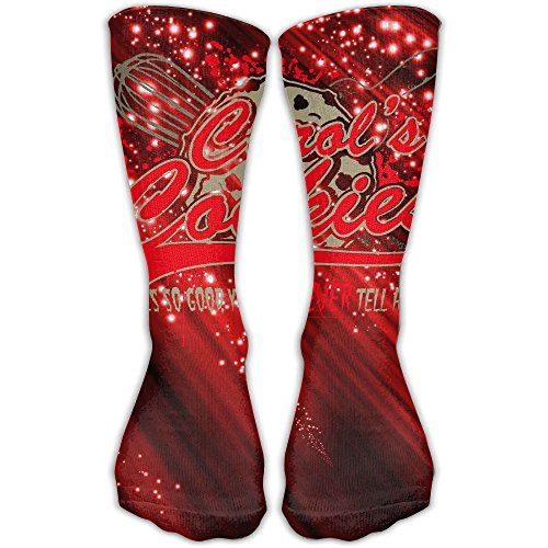 Carols Cookies Women's Men's Classics Socks Fashion Stockings 30cm Casual Long Soft Fabric Socks