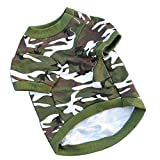 autumn feshion dog warm cotton hoody Pet Dogs camouflage clothing clothing