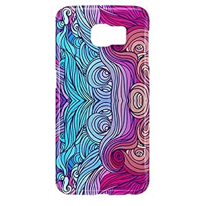 Hairs Samsung S6 3D wrap around Case - Design 15