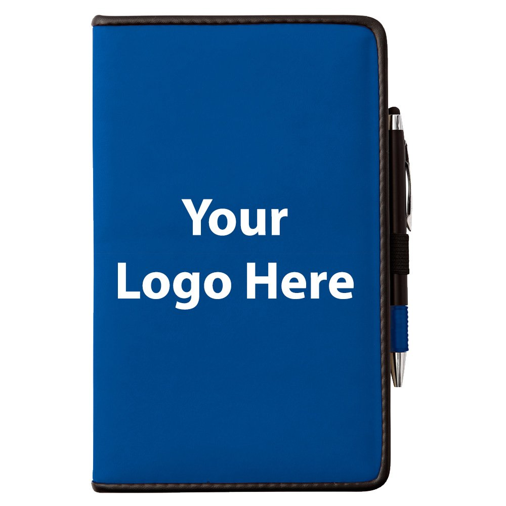 Randall Notebook with Pen Stylus - 100 Quantity - $4.60 Each - PROMOTIONAL PRODUCT / BULK / BRANDED with YOUR LOGO / CUSTOMIZED