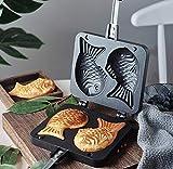 Japanese Taiyaki Fish Shaped Cake Maker Waffle Pan