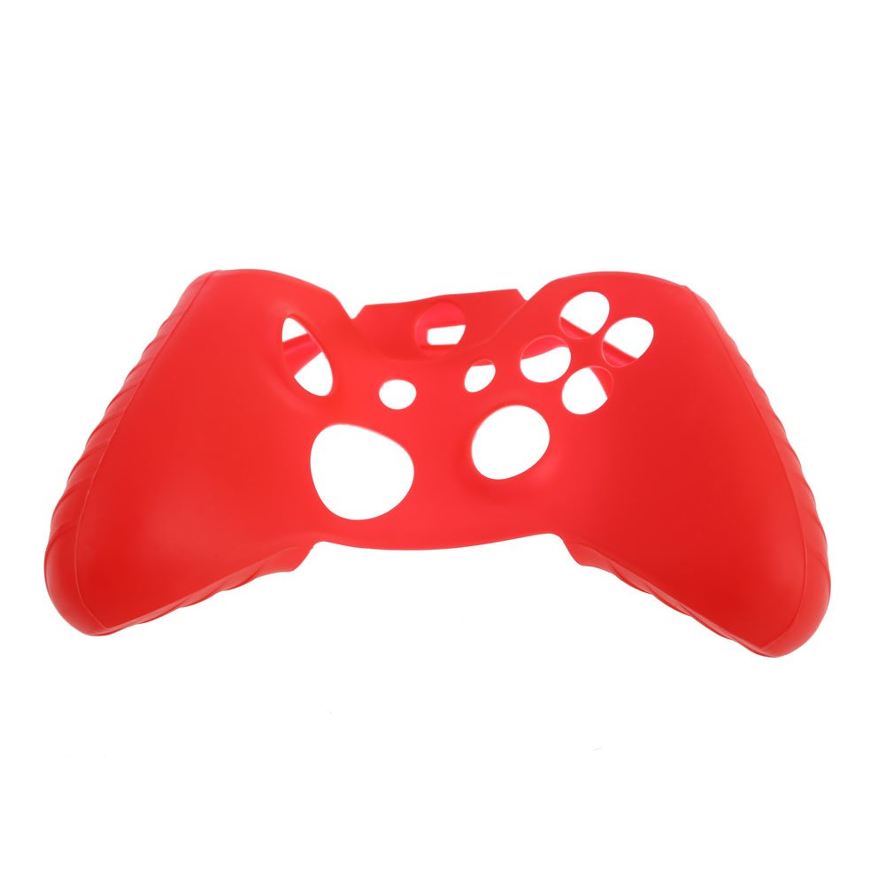 WinnerEco Super Grip Silicone Rubber Case Cover for Xbox One Controller(Red)