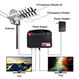 Digital Outdoor Amplified HD TV Antenna 150 Miles