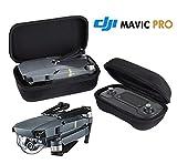 Mavic Pro Carrying Case Bag,IRUIS Foldable Portable Drone Body Cases and Remote Controller Transmitter Bag Hardshell Housing Bag Storage Box Case for DJI MAVIC PRO