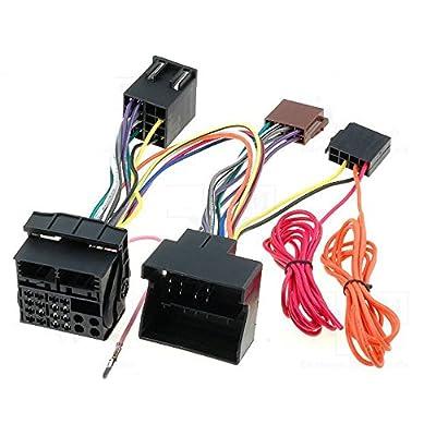 -G.M. Production - BT-OP - PC000043AA - Kit adaptateur de faisceau autoradio avec fiche Fakra (Quadlock) pour montage de kit mains libres (Parrot, Bury ou modèle similaire)