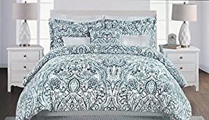 Amazon Com Nicole Miller Bedding 3 Piece Full Queen