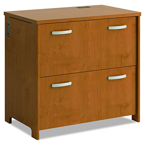 Bush Business Furniture Bush Envoy Collection 2-Drawer Lateral File, 32-Inch, Natural Cherry