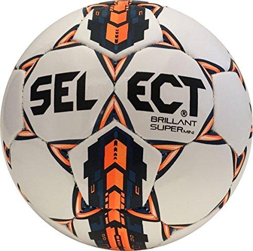 Select Brilliant Super Replica N Soccer Ball, Mini Size, White